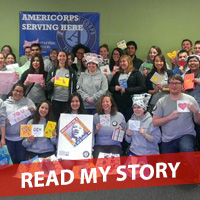 The Communities In Schools of Central Texas AmeriCorps Members