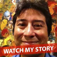 Gabriel Estrada - Teacher, Community Organizer, Painter
