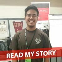 Thomas Martir - AmeriCorps College Forward division counselor at Crockett High School
