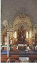 Interior of Dubina church