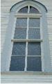 Window on Dubina church